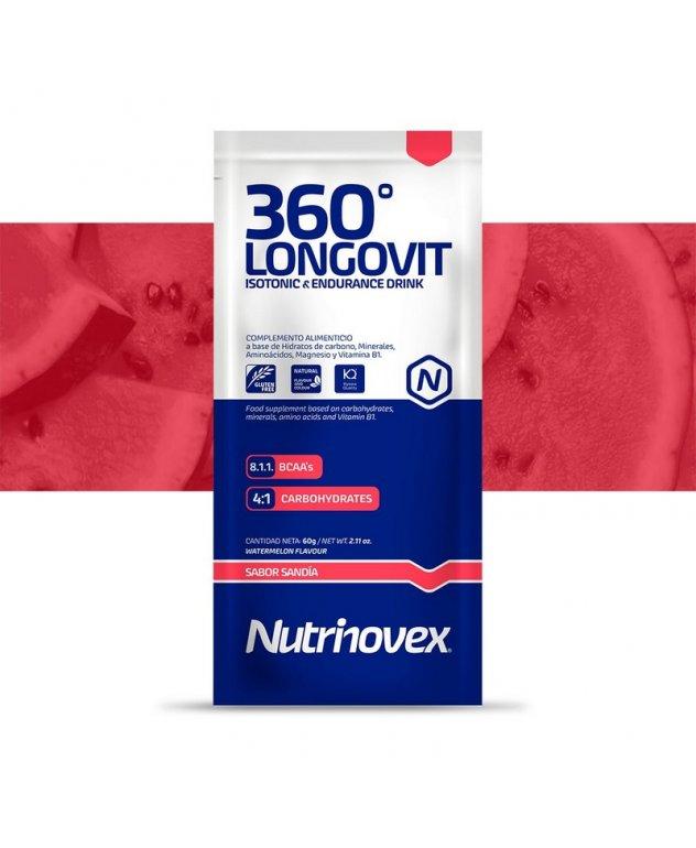 SOBRE 360º LONGOVIT 60G SANDIA NUTRINOVEX