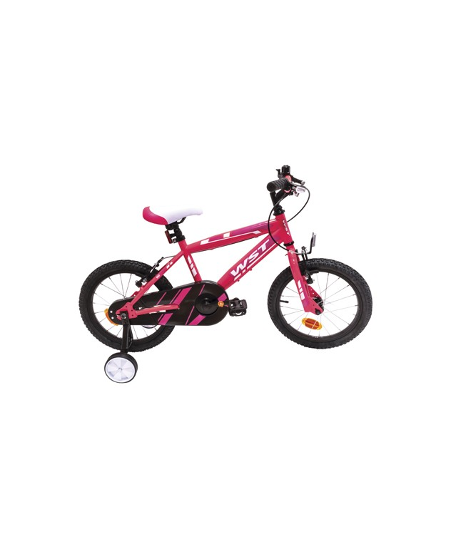 "BICICLETA WST JUNIOR 16"" ROSA"