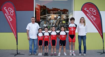 Escuela de ciclismo Bicicletas Sanchis